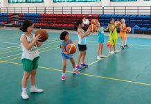 cảm hứng bóng rổ trẻ em