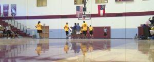 giải đấu bóng rổ trẻ em