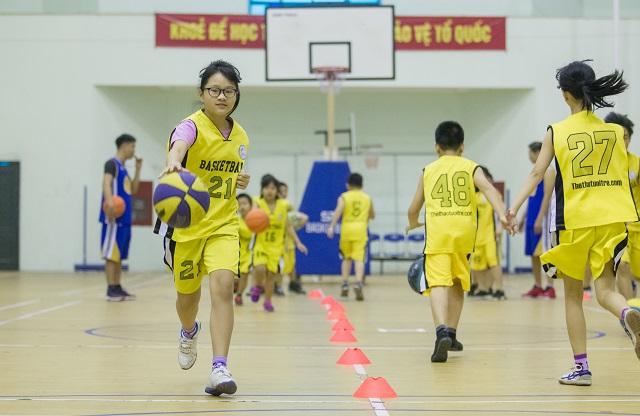 học bóng rổ thể thao tuổi trẻ 1