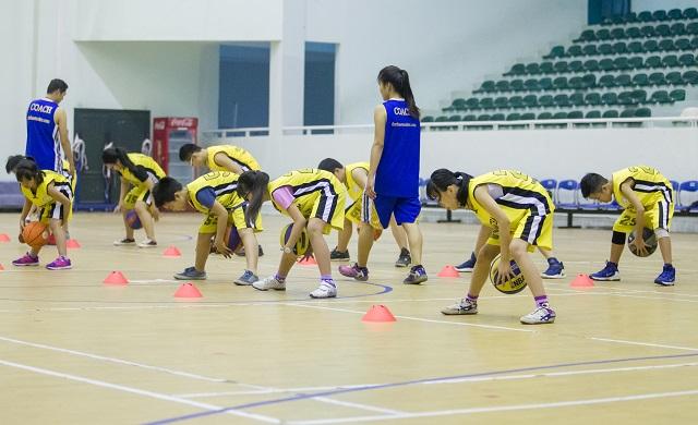 học bóng rổ thể thao tuổi trẻ